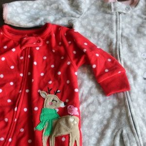 Carter's One Pieces - Carters Onsie Footies 6 months